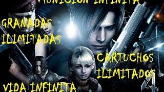 Munición y vida infinita Resident Evil 4 PC (Funciona 100%)