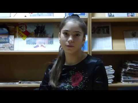Изображение предпросмотра прочтения – ДанаБердиева читает произведение «Перед весной бывают дни такие» А.А.Ахматовой