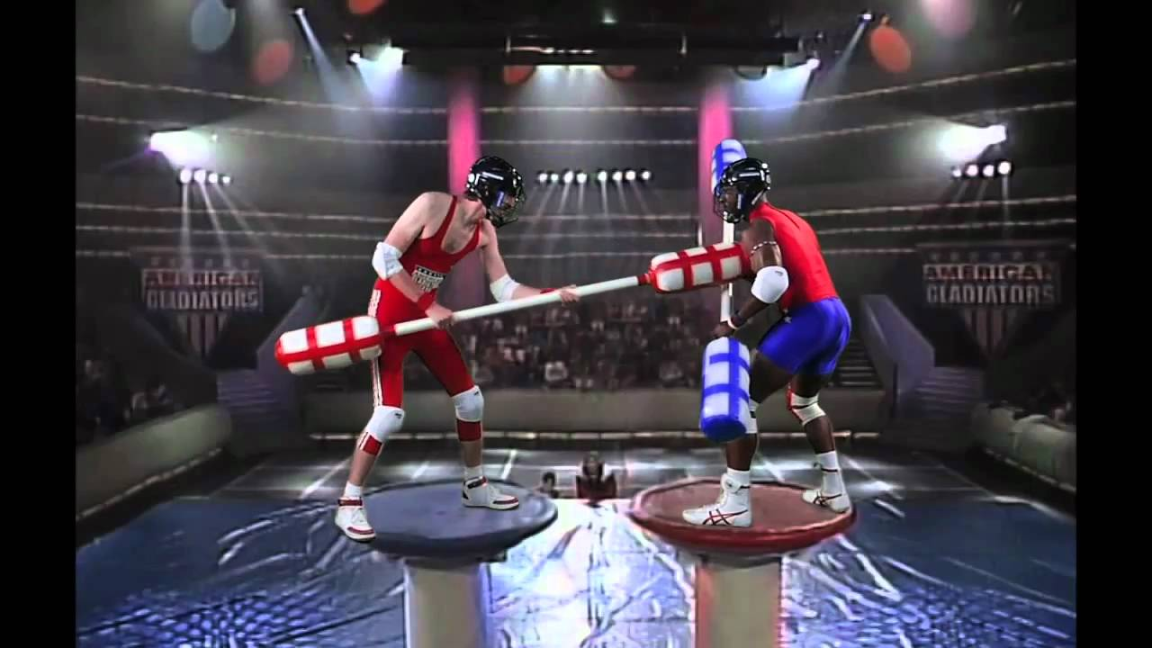 American Gladiators - VFX - YouTube