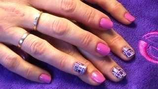 Anna Bukreeva дизайн ногтей наклейки Минкс (Minx)