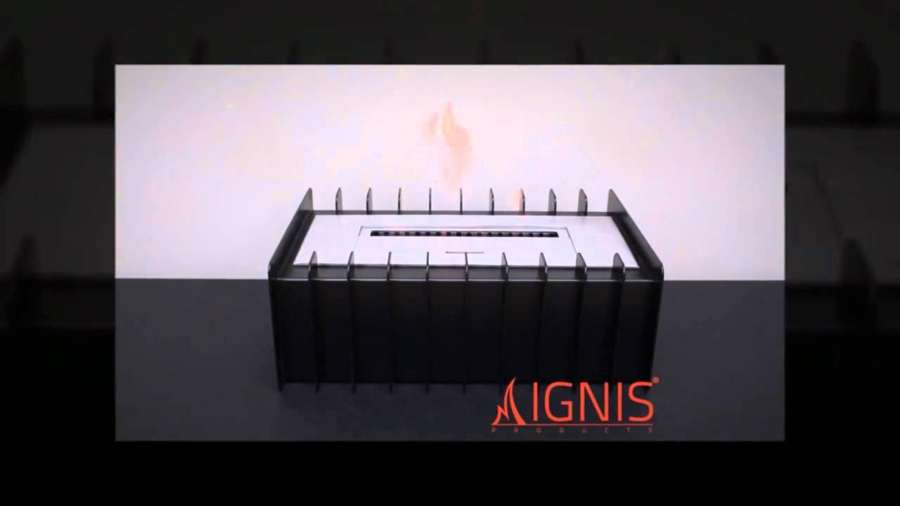 ebg1200 ventless bio ethanol fireplace grate burner insert by