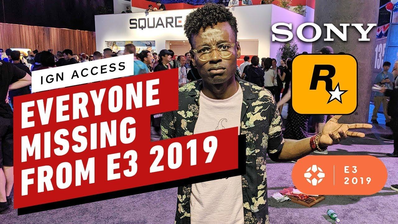 Größte Nichterscheinen der E3 2019 - IGN-Zugang + video