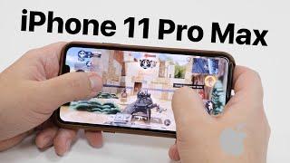 Обзор iPhone 11 Pro Max в играх. Троттлит или нет? Ахиллесова пята или почему Argument600 обделался