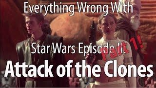 Download Everything Wrong With Star Wars Episode II: Attack of the Clones Part 1 Mp3 and Videos