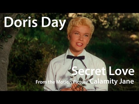 Doris Day in Technicolor - Secret Love (from Calamity Jane) (1953)