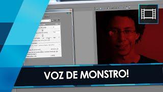 Como fazer VOZ DE MONSTRO no Sony Vegas!