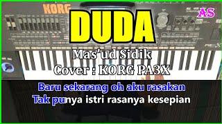 DUDA - Mas'ud Sidik - Karaoke Qasidah ( Cover ) Korg pa3x