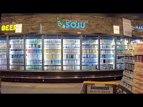 【4K】Seoul Shopping Walk - Shinsegae Emart (Jan.2021) (SE.4)