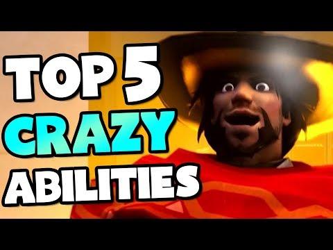 Top 5 Craziest Abilities In Overwatch History