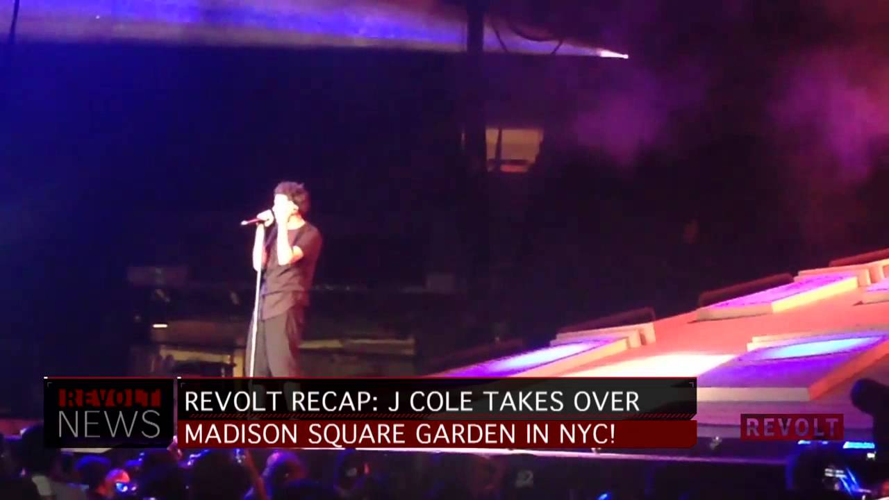 Nice J. Cole Dominates Madison Square Garden Pictures Gallery