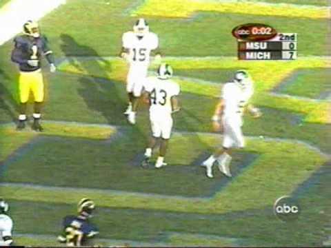 2000: Michigan 14 MSU 0 (1/2)
