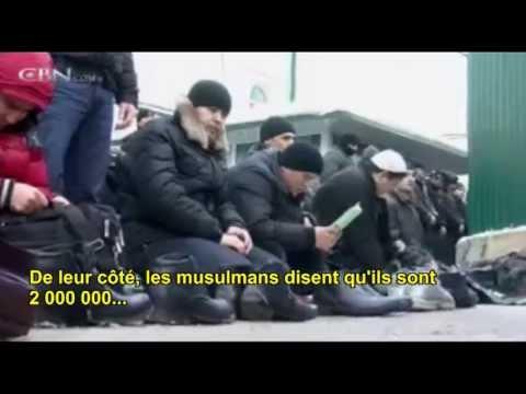 Moscou  : tension entre musulmans et russes