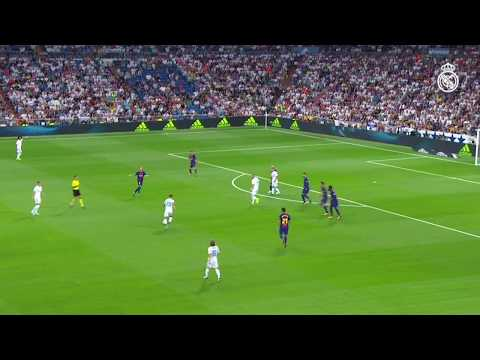 MARCO ASENSIO GOAL | Real Madrid 2-0 Barcelona (Spanish Super Cup 2017) thumbnail