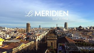 Barcelona city – Hotel Le Méridien / La Rambla. Starwood Hotels & Resorts. Restaurant CentOnze 111
