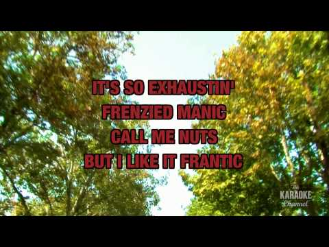 """Frantic in the Style of """"Jamie O'Neal"""" with lyrics (with lead vocal)"""