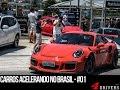 Carros Acelerando no Brasil - #01 - FullHD   Canal 4Drivers