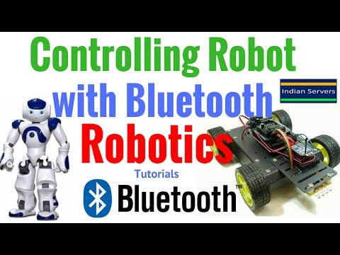 Controlling Robot with Bluetooth | Arduino | Robotics Projects Part 1