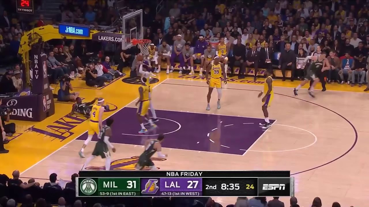 Los Angeles Lakers vs Milwaukee Bucks - Full Game ...