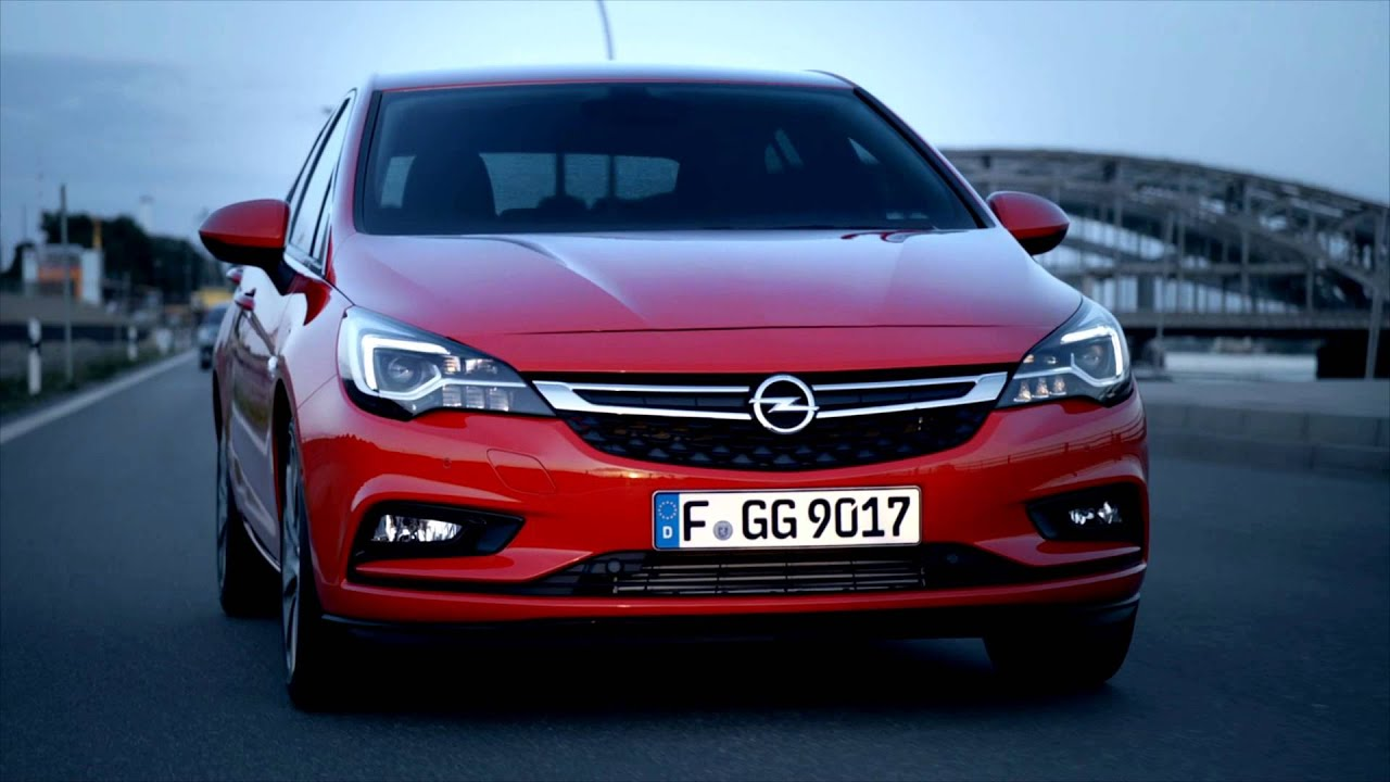 New Opel Astra is Car of the Year 2016 - YouTube