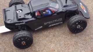 Traxxas Rustler Speed Run 48p Gearing 4s New Personal Record