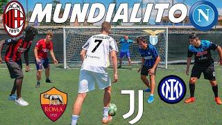 SERIE A 2022 MUNDIALITO FOOTBALL CHALLENGE con YouTube ITALIA