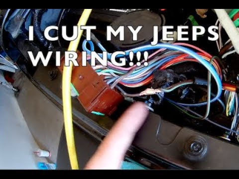 How to Wire Jeep Wrangler Hardtop Harness - YouTube