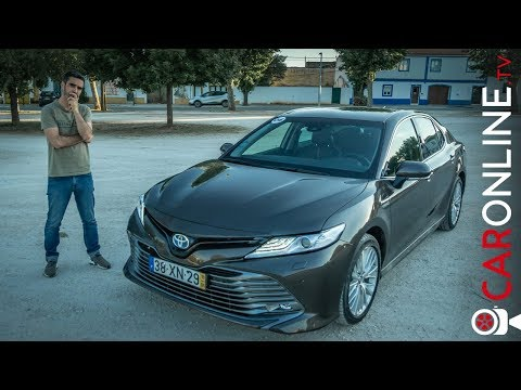 TOYOTA CAMRY VOLTOU [Review Portugal]