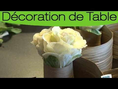 R aliser parfaitement un centre de table floral youtube - Petit centre de table floral ...