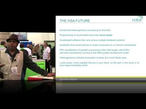 HSA Heterogeneous System Architecture Overview