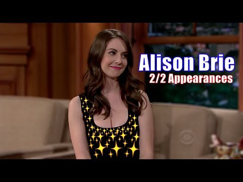 Alison Brie  Craig Notices Whenever Brie Leans Forward  22 Appearances In Chron. Order 1080