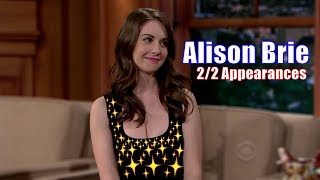 Alison Brie - Craig Notices Whenever Brie Leans Forward - 2/2 Appearances In Chron. Order [1080]