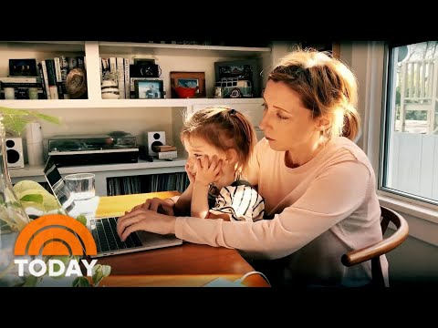 How To Work From Home While The Kids Are There Too | TODAY