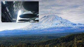 Witness Says Strange Hole in Mt  Adams is a UFO Hangar Door