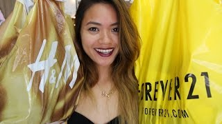 H&M and Forever21 Haul Thumbnail