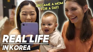 Living as a Half Korean Baby's Mom in Korea
