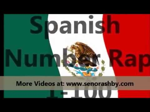 Spanish Number Rap 1-100 (Flo Rida Low)