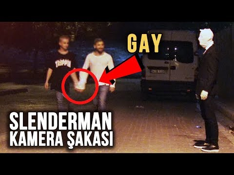 TÜRKİYE'DE KORKUNÇ SLENDERMAN ŞAKASI ! (Slenderman Prank)