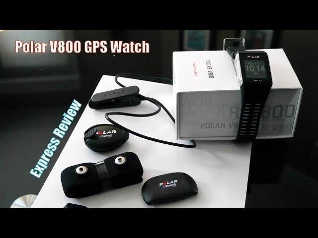22 May 2014 : Polar V800 Pre- Review - It's Here the5krunner