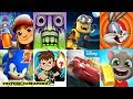 Download Subway Surfers VS Temple Run Minion Rush Looney Tunes Dash Ben 10 Sonic Dash Talking Tom Gold Run #1