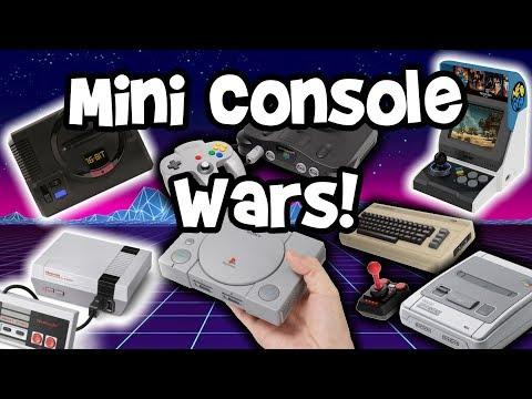 Mini Console Wars - N64 & Sega Genesis Classic News! thumbnail