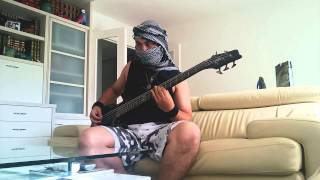 Melechesh - Leper Jerusalem Bass cover