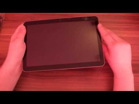 Samsung Galaxy Tab 10.1V Unboxing
