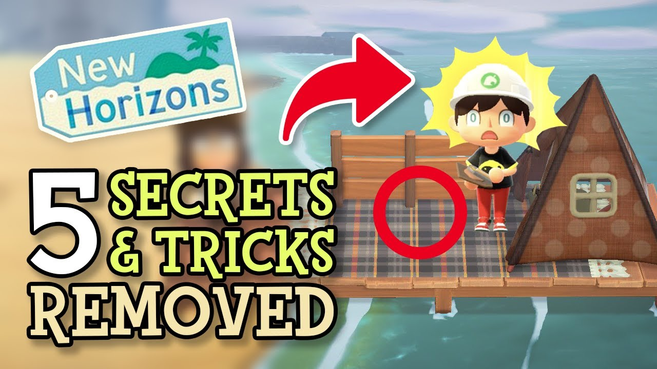 Animal Crossing New Horizons: 5 SECRETS & TRICKS REMOVED (ACNH Hidden Updates That Fixed Glitches)