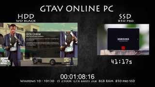 GTAV Online PC - SSD vs HDD