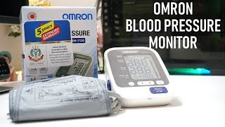 OMRON Blood Pressure Monitor HEM-7130 | Review | Demo