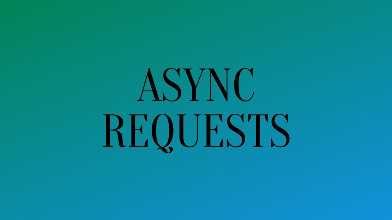 How to Speed Up API Requests With Async Python