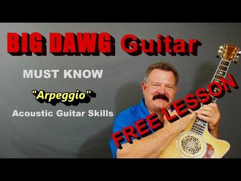 MUST KNOW Arpeggio Acoustic Guitar Skills - GaylerdGUITAR