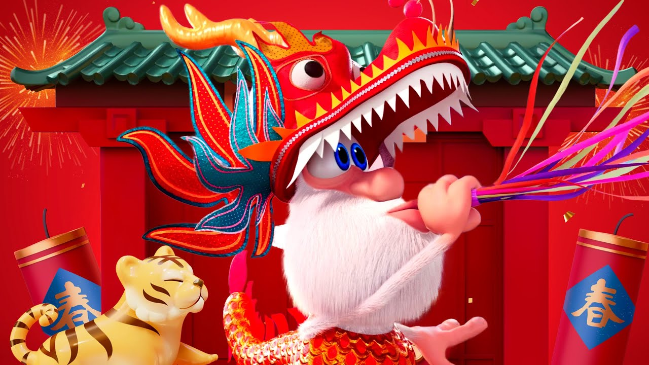 Booba 🐲 Food Puzzle: Chinese Cuisine 🍜 Funny cartoons for kids - BOOBA ToonsTV
