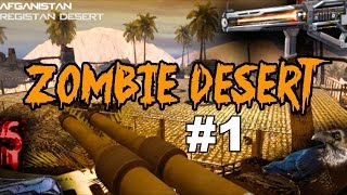 ZOMBIES in the Desert with some AMAZING Weapons!▐ Call of Duty World at War Custom Zombies Map/Mod