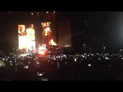 Foo Fighters - My hero - post technical issues Bogotá - Colombia 2015/01/31